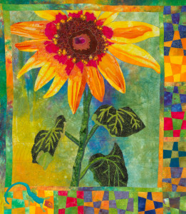 "Member's Choice, ""Surprised by (Life) Sunflowers"" by Laurie Marks"