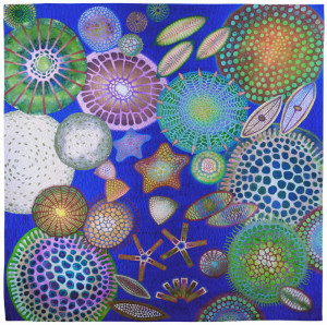 """Diatom 2"" by Betty Busby"