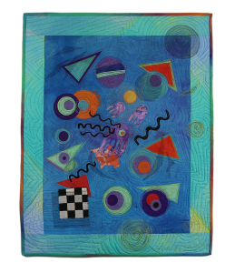 """Kandinsky Goes to the Bahamas"" by Daniela Schupp, Juror's Mention #3"