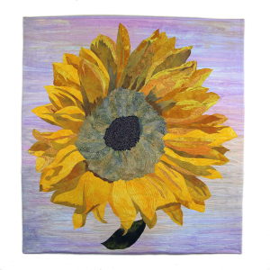 """One Cut Sunflower"" by Kathy Schattleitner, Juror's Mention #2"