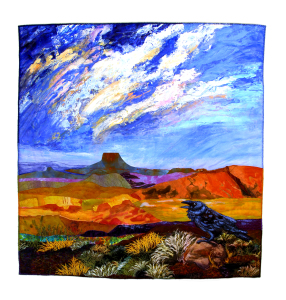 """The Raven Meets Van Gogh"" by Susan Strickland, Juror's Pick #5"